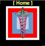 Logo of Dr. DeLuca's Addiction, Pain, & Public Health website - doctordeluca.com - a caduceus superimposed on square, colored geometric background.